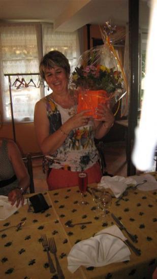 1-Repas de fin d'année - 29 juin 2009 - à la Gerbe de Blé de CHAILLAC