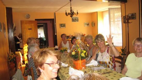 2-Repas de fin d'année - 29 juin 2009 - à la Gerbe de Blé de CHAILLAC