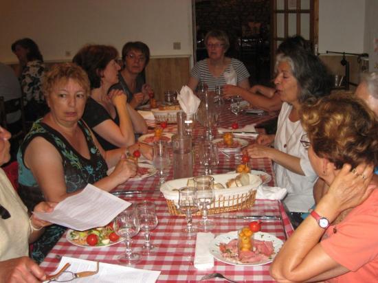 5-Repas de fin d'année à CHAILLAC - en juin 2010