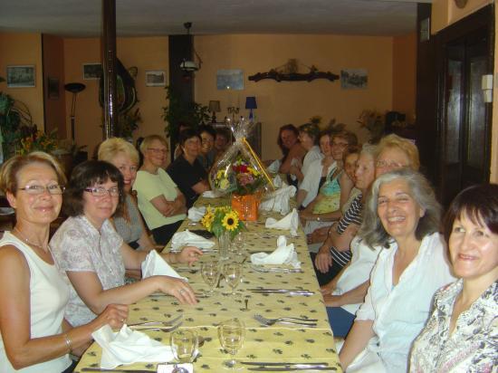 5-Repas de fin d'année - 29 juin 2009 - à la Gerbe de Blé de CHAILLAC