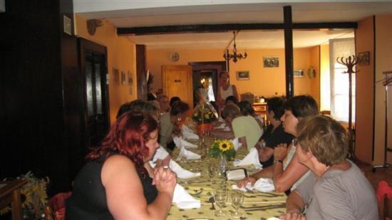 3-Repas de fin d'année - 29 juin 2009 - à la Gerbe de Blé de CHAILLAC