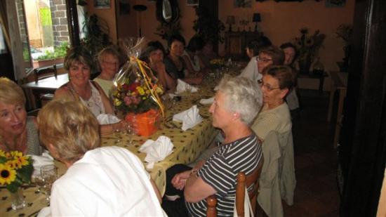 4-Repas de fin d'année - 29 juin 2009 - à la Gerbe de Blé de CHAILLAC