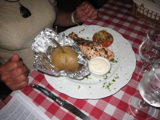 2-Repas de fin d'année à CHAILLAC - en juin 2010