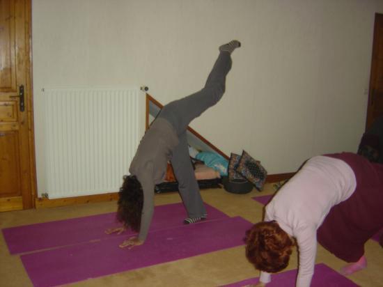 Salle de yoga à Argenton -le pied à la lune