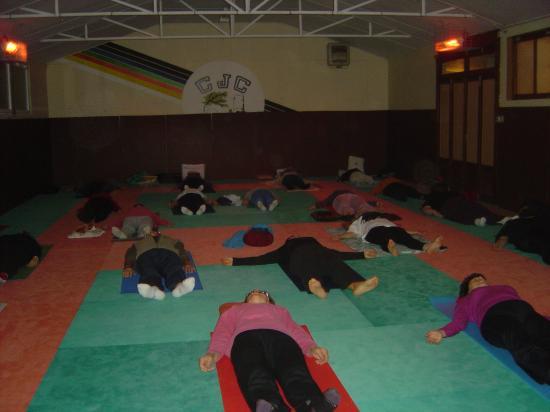 Salle de yoga à CHAILLAC : relaxation