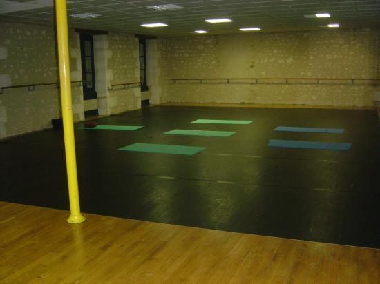 Salle de yoga du BLANC (Centre Culturel)