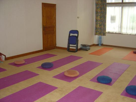 Salle de yoga à Argenton sur creuse