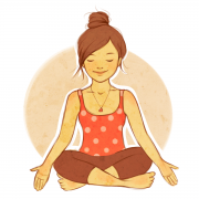 Yoga girl drawing 53
